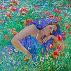 Summer dream Painting bu Aleksandr Dubrovskyy