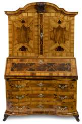 Baroque Secretary. Probably Brunswick, circa 1740