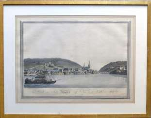 View of the city of Bingen