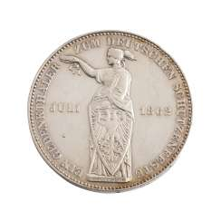 Free City Of Frankfurt - 1 Thaler 1862, At A Festival,