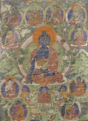 THANGKA WITH DEPICTION OF THE