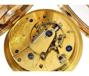 Pocket watch: extremely rare English Arnold type Chronometer by one of the most important English watchmaker, William Anthony, No. 4355, London 1809