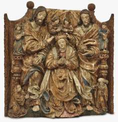 Coronation of Mary Master of the Pulkau altar sculptures (presumably active in Vienna 1st third of the 16th century), around 1530