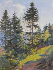 RUSSIAN LANDSCAPE PAINTER 20TH CENTURY,