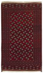 Old Göklan Yomud tribal carpet