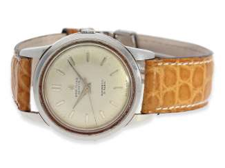Watch: vintage stainless steel men's watch by Breitling, Ref. 2509, CA. 1950