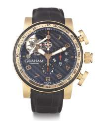 GRAHAM, TOURBILLOGRAPH, 18K PINK GOLD, LIMITED EDITION NO. 19/25, REF. 2TWBE