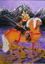 Samurai. Of the black mountains.