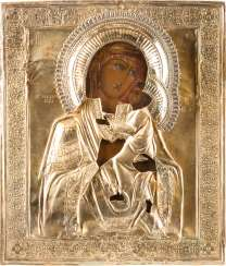 ICON OF THE MOTHER OF GOD OF TOLGA (TOLGSKAJA) WITH OKLAD