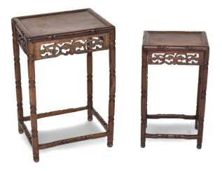 Two Side Tables, Wood,