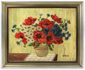 Summer bouquet with poppies - Müller, R.
