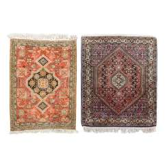 Two Oriental Rugs. PERSIA, 20. Century.