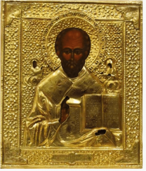Saint Nicholas the Wonderworker of the nineteenth - century