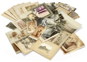 A LARGE COLLECTION OF SMALL AND LARGE PHOTOGRAPHS