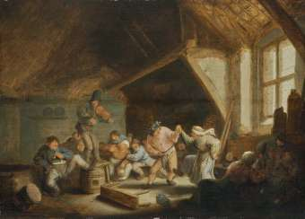 Ostade, Adriaen van. Peasant wedding