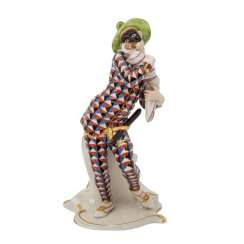 "NYMPHENBURG ""Mezzetino"", comedian character from the Commedia dell'arte series, 20th century"