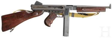 Semi-automatic machine. Rifle Thompson M1A1