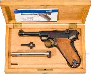 Mauser Parabellum Mod 29/70, Interarms, in Kassette