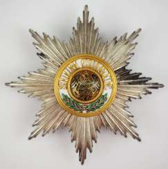 Prussia: High-order of the Black eagle, breast star.