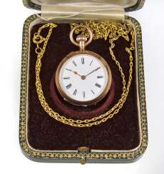 Neck/ Pocket Watch - Yellow Gold 585