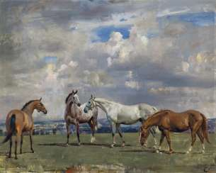 Sir Alfred James Munnings, P.R.A., R.W.S. (British, 1878-195...