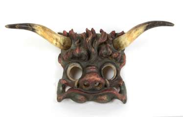 carved mask from around 1900