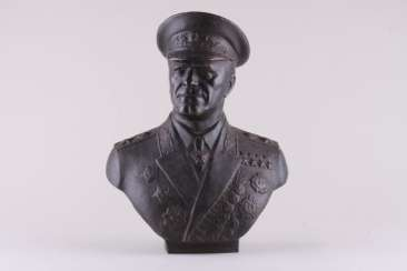Bust Of Marshal Zhukov