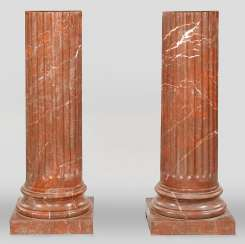 Pair of large columns