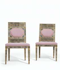 A PAIR OF SOUTH ITALIAN GILTWOOD, GILT-LEAD MOUNTED AND REVE...