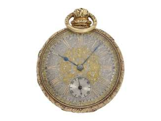 Pocket watch: Liverpool's magnificent pocket watch, circa 1830, with anhaltbarer second, and