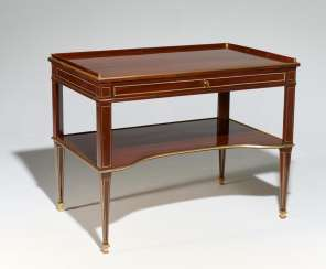NEO-CLASSICAL WRITING AND WORK TABLE