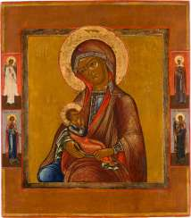 ICON WITH THE NURSING MOTHER OF GOD (GALACTOTROPHOUSA) Russia