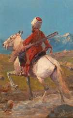 Roubaud, Franz attributed: Mounted