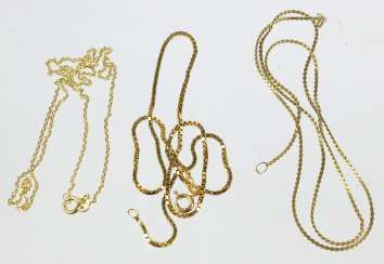 3 Gold Chains - Yellow Gold 333