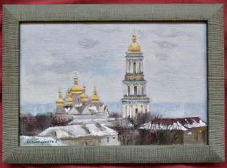 Landscape of the Kyiv-Pechersk Lavra