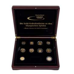 Gold collection to the Olympic Games
