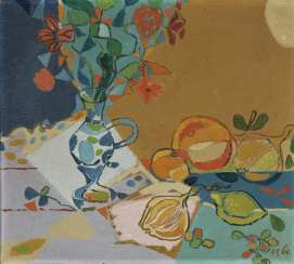 Still life with South fruits. 1954