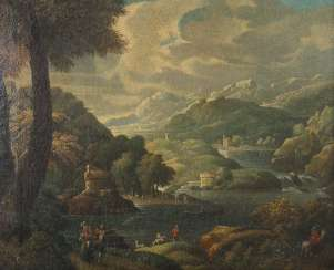 Landscape painter of the 18th century./19. Century