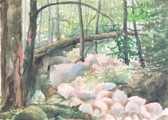 Зайцев Е.А. Картина, 1950-70-е годы.