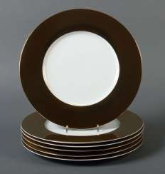 Six Square Plate Christofle