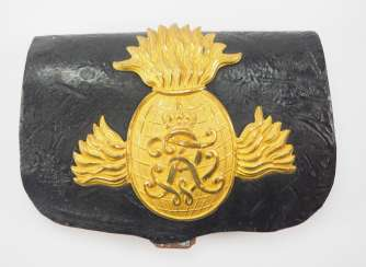 Prussia: cartridge case for artillery officers.