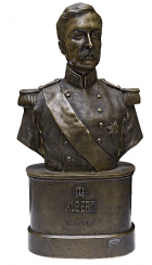 "A Bust Of ""King Albert"""