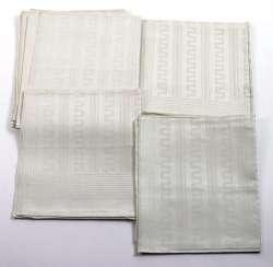 Art Deco Linen Towels