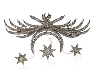 ANTIQUE DIAMANT BROCHE