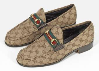 Pair of loafers from GUCCI