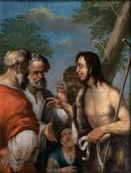 The sermon of John the Baptist