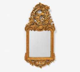 Small mirror frame Baroque style
