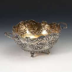 Silver Ceremonial Bowl.