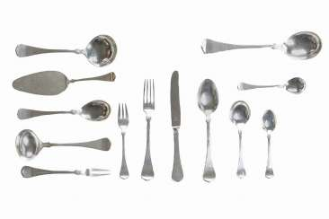 Dining cutlery for 12 people