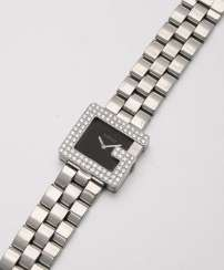 "Gucci ladies' wristwatch ""P"" with diamonds from 2001"